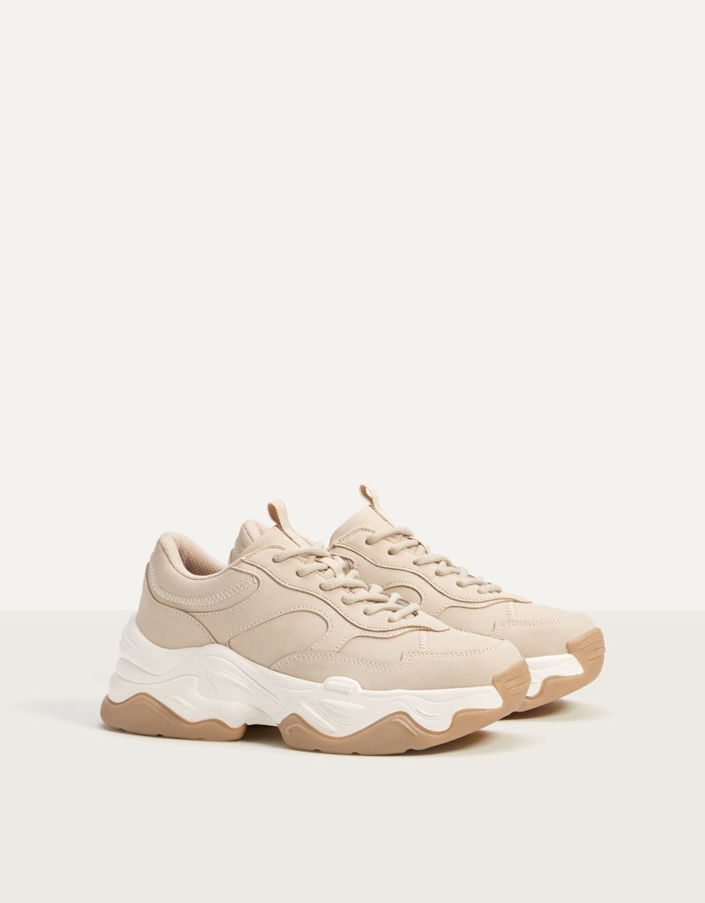 XL sole trainers
