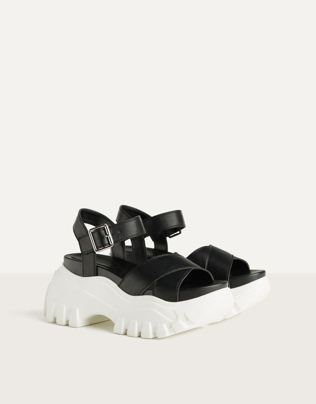 Sandales sport plateforme