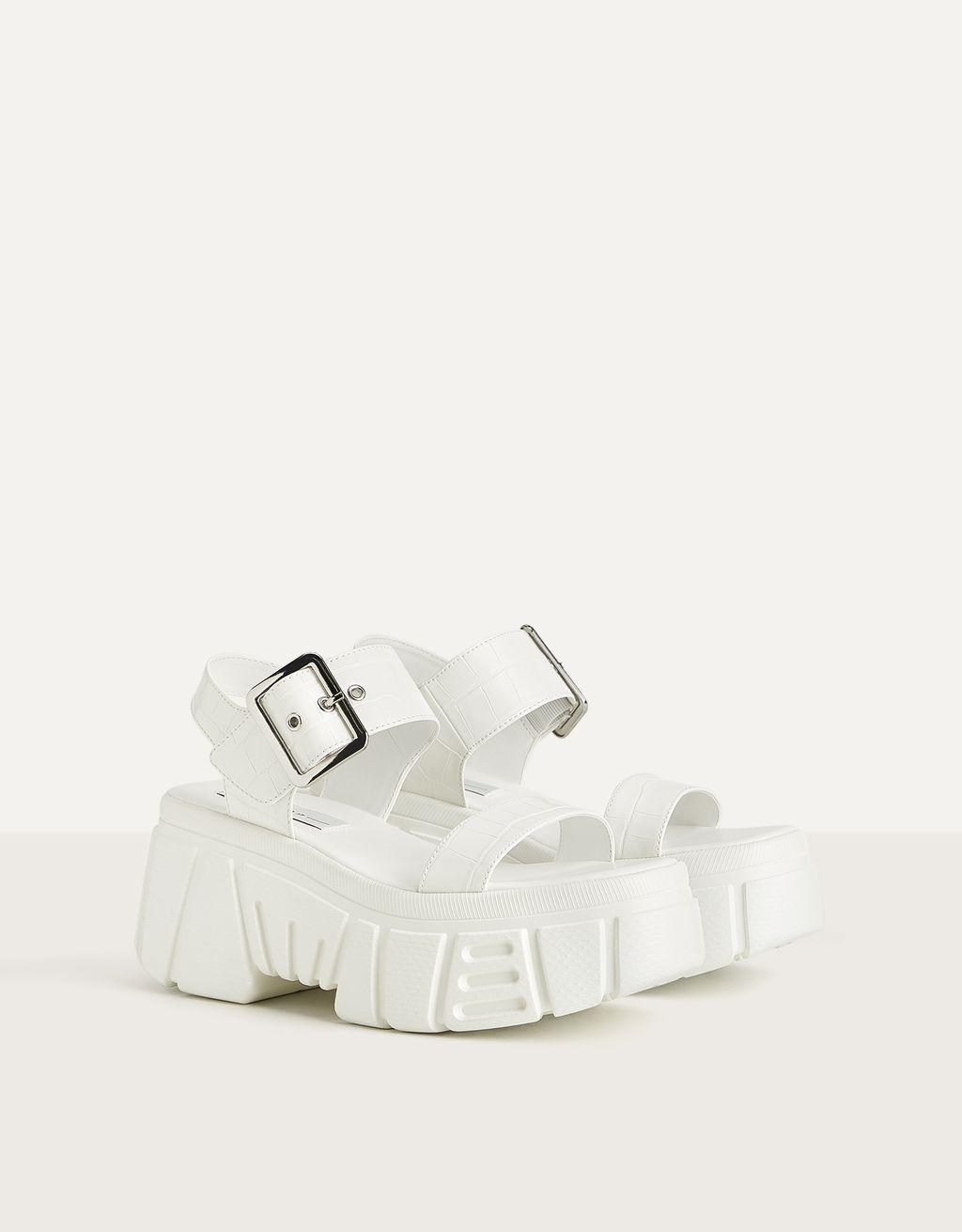 Sandales plate-forme sport