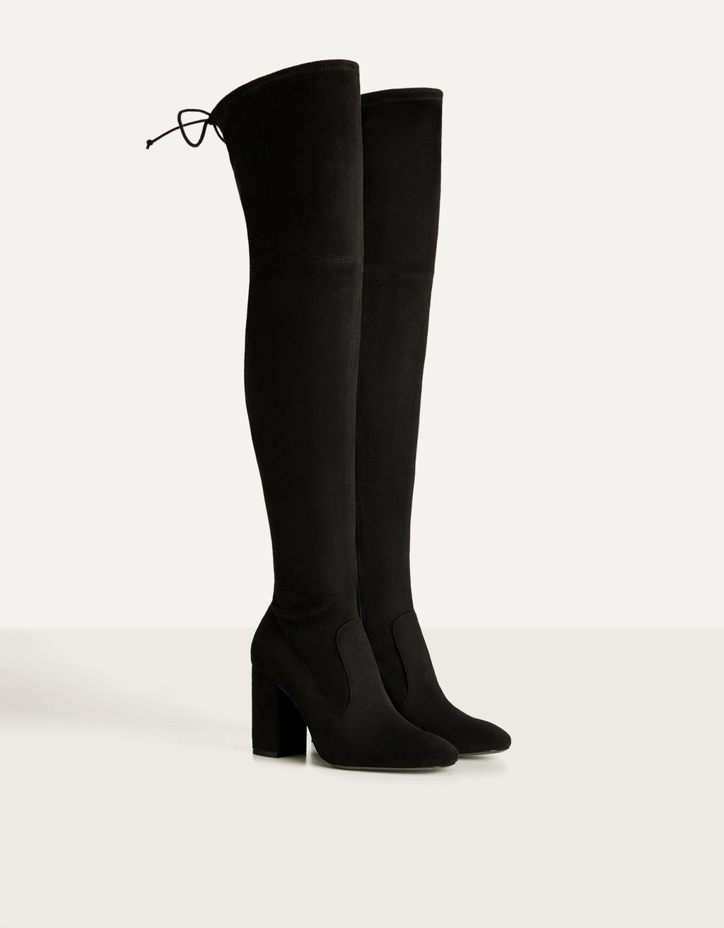 Stretch high-heel over-the-knee boots