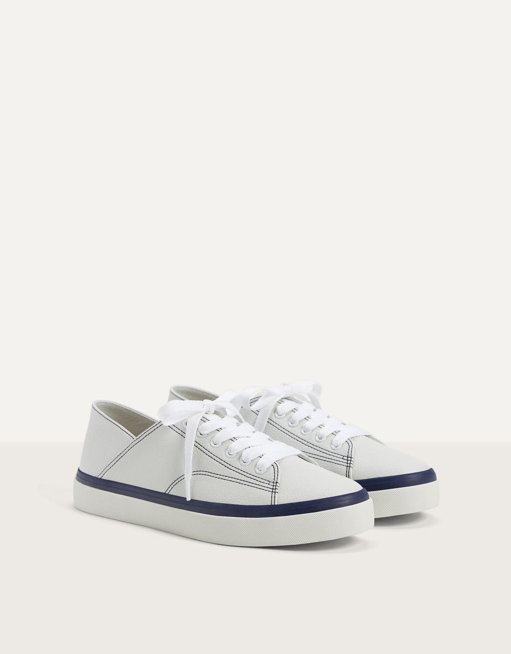 Fold-down heel trainers