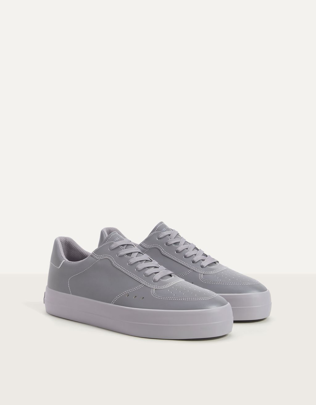 Men's reflective trainers