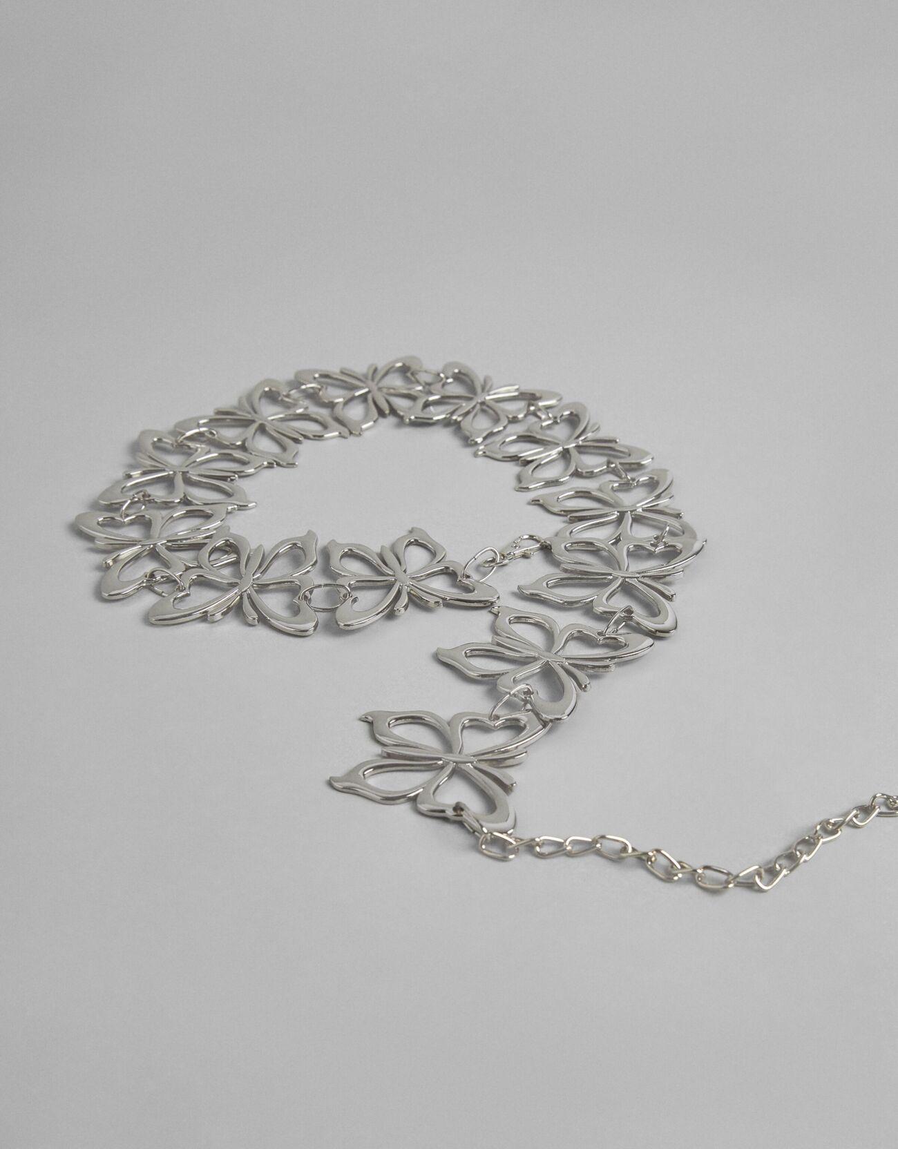 Bershka Kelebek Kemer Kadın Gümüş