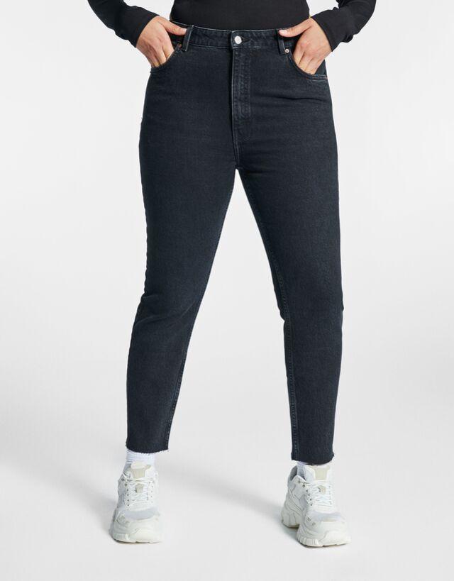 Jeans Slim Denim Mujer Bershka