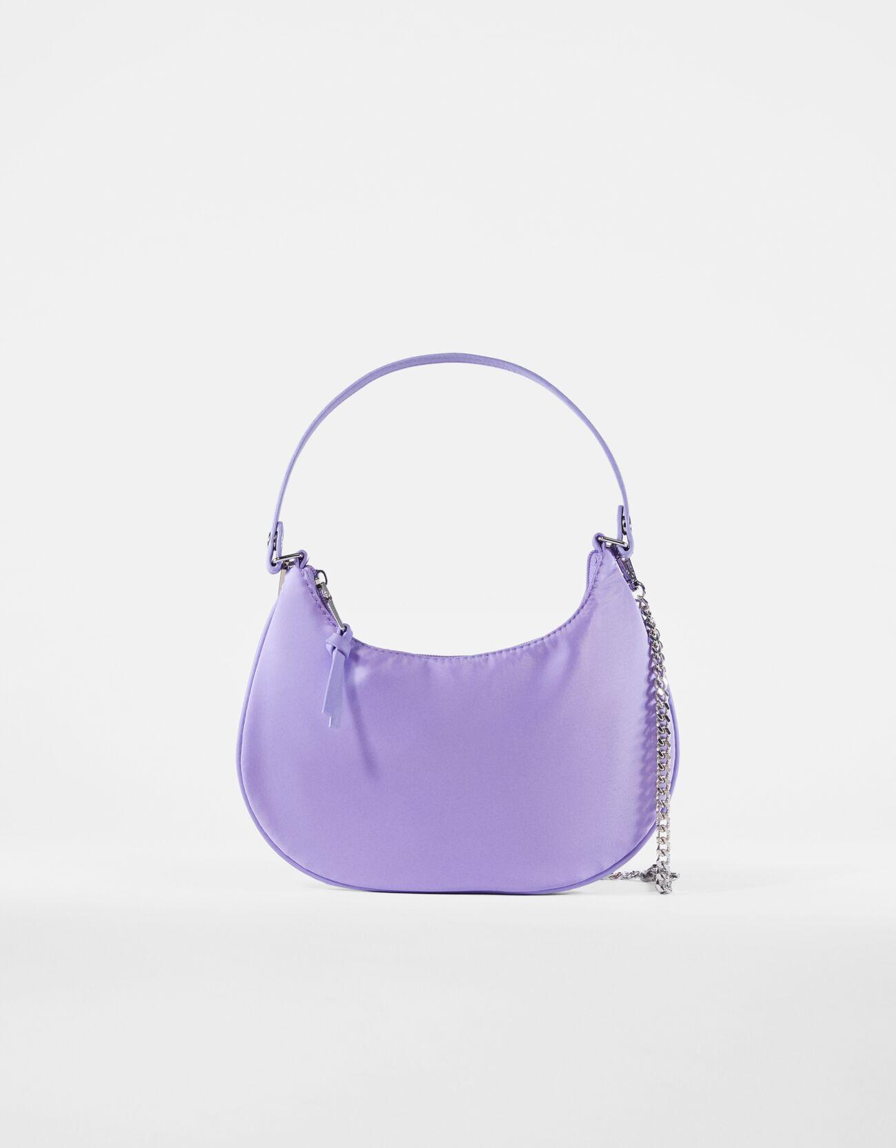 bershka -  Tasche Mit Kette Damen Violett