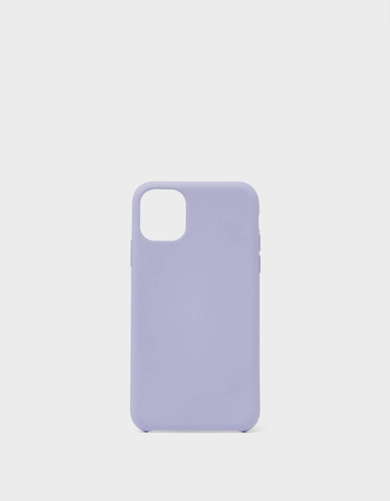 Bershka Unifarbene Handyhülle Für Iphone 11 Damen Violett