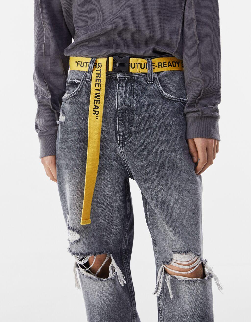 Mens utility belt from Bershka